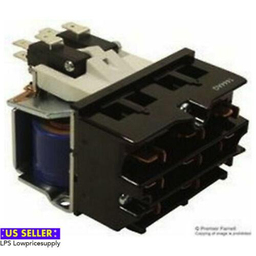 Struthers-Dunn A275Kxx90-24Vac Contactor, 3Pst-No-Dm, 600Vac, 15A, Panel