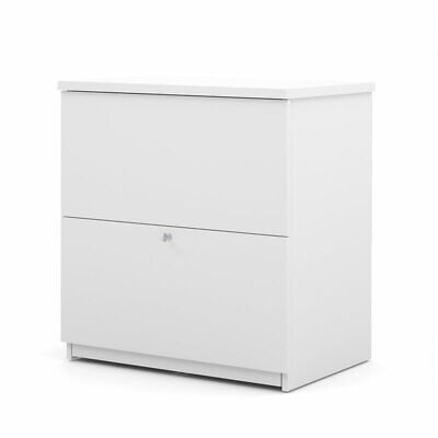 Bestar 2 Drawer Lateral File In White