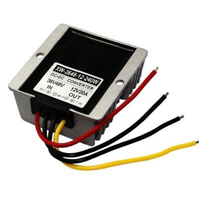 DC36V/48V Step Down 12V 20A 240W Power Converter Adapter Regulator  #c