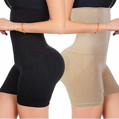 Fajas Colombianas High Waist Shapewear Tummy Control Shaper Girdle Boned Pants A