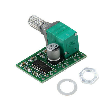 Mini PAM8403 5V 2 Channel USB Power Audio Amplifier Board 3W Volume Control