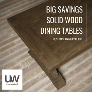 Factory Pricing - Reclaimed Wood Dining Tables