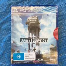 Star Wars BATTLEFRONT PS4 Game  - Brand New UNOPENED Mansfield Park Port Adelaide Area Preview