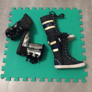 Girls boot UGG size 11, D-Signed size 12. $10 each