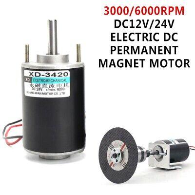 Dc12v24v Electric Dc Permanent Magnet Motor Generator 3000rpm6000rpm 30w