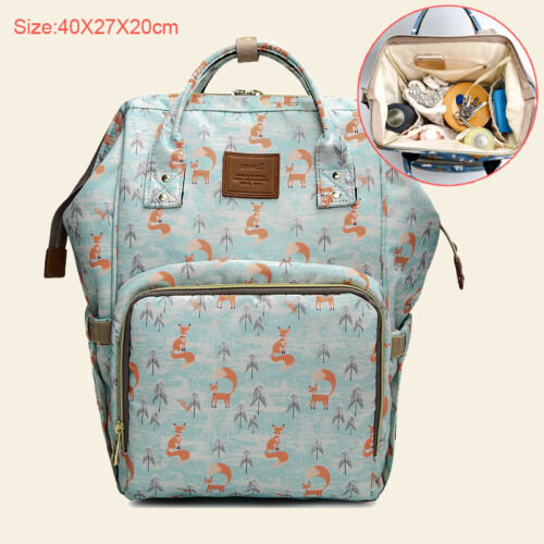 Baby Nappy Diaper Changing Bag Mummy Maternity Large Capacity Travel Backpack