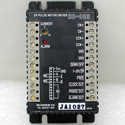 Rorze Rd-023 2 Phase Pulse Stepping Motor Driver 3a Microstep Stepper