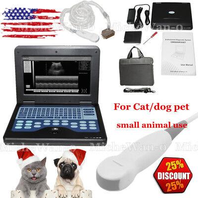 Animal Dogcatpet Digital Ultrasound Scanner Portable Laptop3.5mhz Micro Convx
