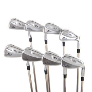 New Cobra S3 Pro Irons CB/MB 2i-GW (No 5i or PW) Stiff Flex Steel RH