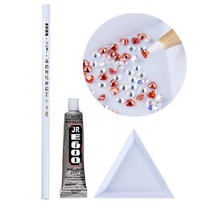 Easily Picking Up Rhinestone Picker Wax Pen/ Glue/ Palette Kit  - Rhinestone Kit