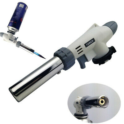 Butane Torch Gas Soldering Iron Blow Lighter Burner Camping Welding BBQ Tools UK