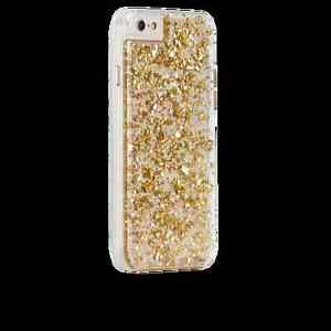 Case-Mate iPhone 6/6S Fitted w/ 24K Gold Leaf Hard Shell Case