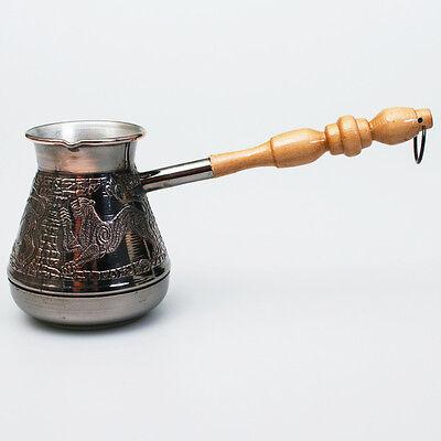 ARMENIAN TURKISH COFFEE POT MAKER CEZVE IBRIK Jezve Turka 14 fl oz (400 ml) SALE