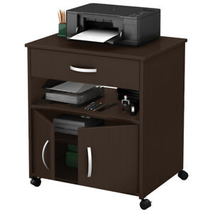 NEW IN BOX CHOCOLATE COLOR PRINTER/COFFEE STAND $80