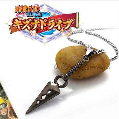 Anime Naruto Manga Series Ninja Hokage Kunai Charm Pendant Necklace Cosplay New