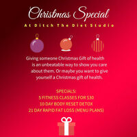 Christmas Special-5 Fitness Classes For $30 (Cobourg Location)