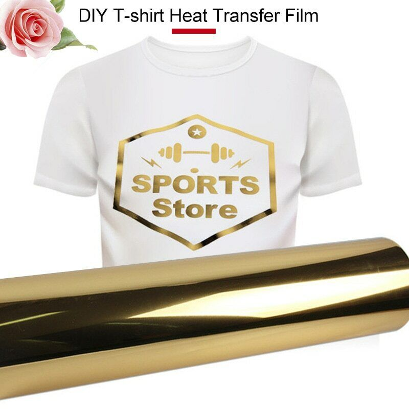iron on Transfer Gold A4 size Paper for Fabric Creative T-Sh