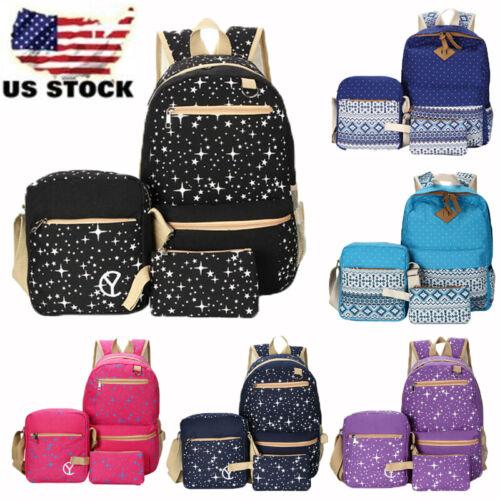 Women's Backpack School Book Bags Satchel Shoulder Rucksack