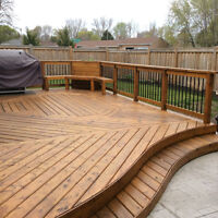 DECK REFINISHING AND STAINING SERVICES