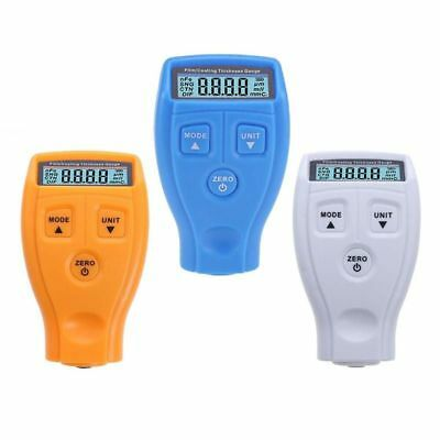 Car Coating Thickness Tester Digital Meter Lcd Gauge Paint Mini Painting Films
