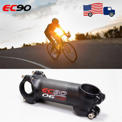 EC90 Carbon Cycling Stem 31.8mm Ultra-Light Carbon Fiber Road MTB Mountain Bicycle Bike Stems Riser Rod 6//17 Degrees