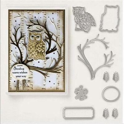 Weihnachten Neujahr Hochzeit Oster Geburtstag Karte Album (Eule Weihnachten)