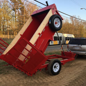 DUMP TRAILERS BY CRAMERO TRAILERS