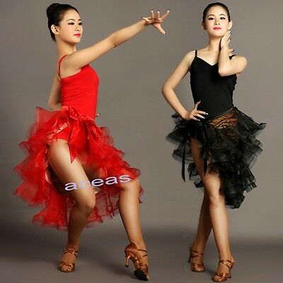 Adult Latin Dance Outfits Performance Dress Suits Rumba Samba Cha Cha Ballroom