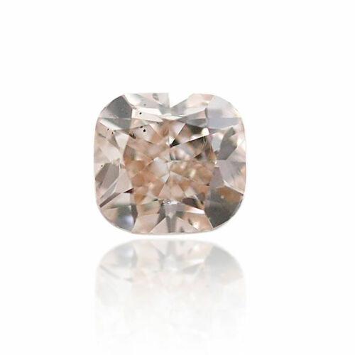 Pink Diamond Natural 0 .28 Ct Fancy Brown GIA Certified Sweet Loose Cushion Cut