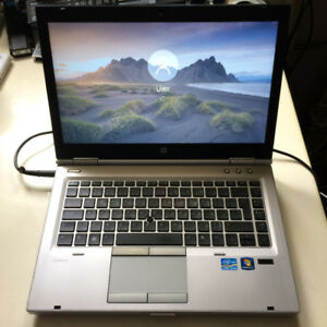 HP Elitebook 8470p i5 2.6ghz, 500Gb HD, 8Gb Ram & Win 10 Pro 64b
