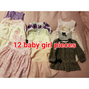 EXCELLENT CONDITION BABY GIRLS CLOTHING