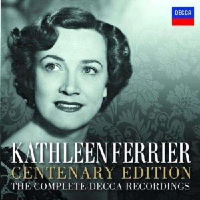 KATHLEEN FERRIER - SÄMTLICHE DECCA AUFNAHMEN-CENTENARY EDITION 14 CD + DVD NEU