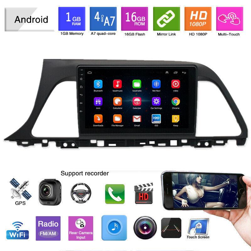 """9"""" 1080P Android 9.0 Car GPS Stereo Radio Player for Hyundai Sonata LF 2015-2017"""
