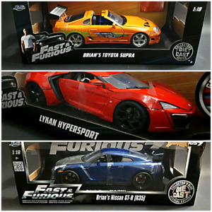 1/18 Diecast Fast And Furious