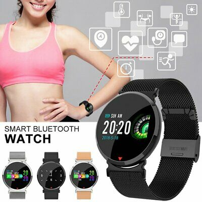 Men Women Sports Bluetooth Smart Watch Heart Rate Monitor Fitness Wristband