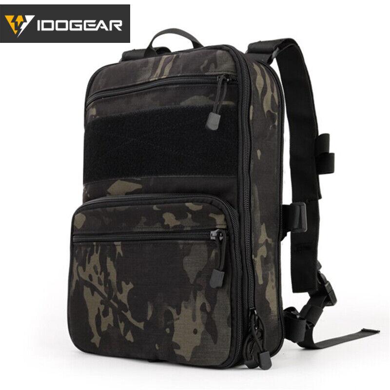 IDOGEAR 410 Flatpack Tactical Backpack Multi-purposed MOLLE Rucksack Military