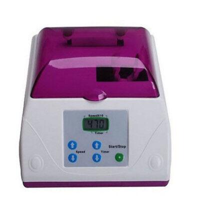 Dental Lab Electric Amalgamator Amalgam Capsule Mixer Hl-ah High Speed Purple Us