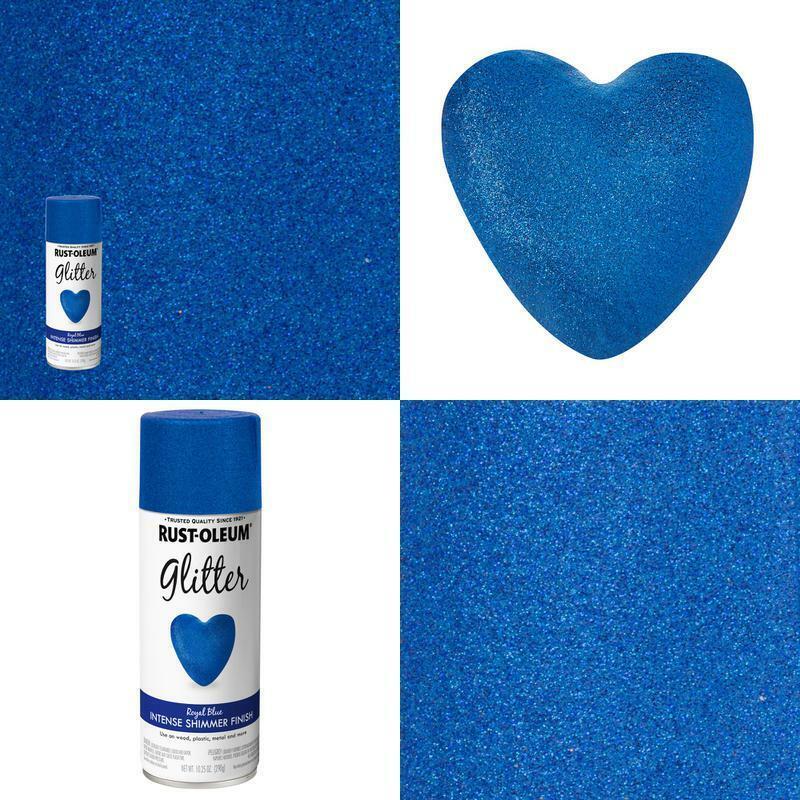 10.25 Oz. Royal Blue Glitter Spray Paint