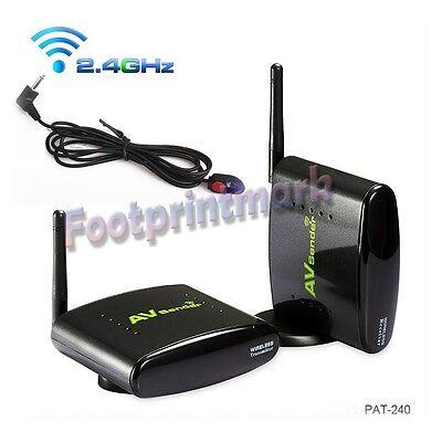 Audio Video AV Wireless Transmitter receiver IR remoter