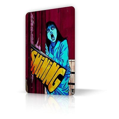 TIN SIGN THE SHINING Movie Poster Metal Decor Home Art Wall Horror Classic