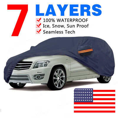 Heavy Duty Car Cover Protector Sun Rain For BMW 6 Series Convertible 2004-2010