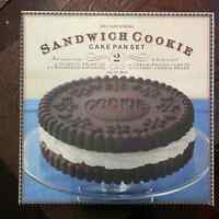 BRAND NEW 3D WILLIAM SONOMA SANDWICH COOKIE CAKE PAN SET