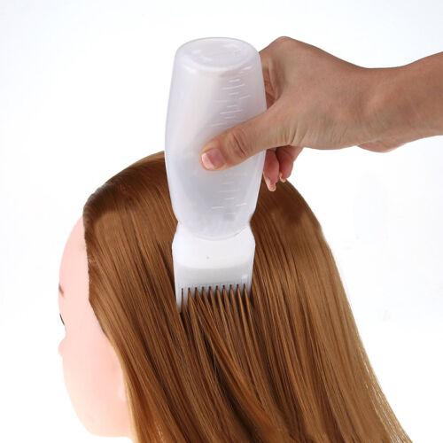 1Stk Haarfärbung Haarfarbe Dye Tint Flasche Kamm Bürsten Frisur BEST