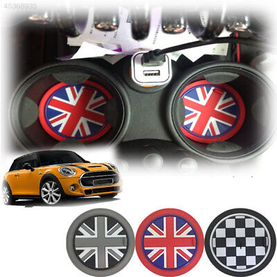 Car Vehicle Water Cup Bottle Holder Anti-slip Pad Mat for BMW Mini Cooper