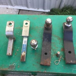 Four Trailer Hitch Bars