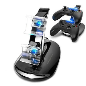 Dual Docking Station Charging Stand Microsoft Xbox Controllers