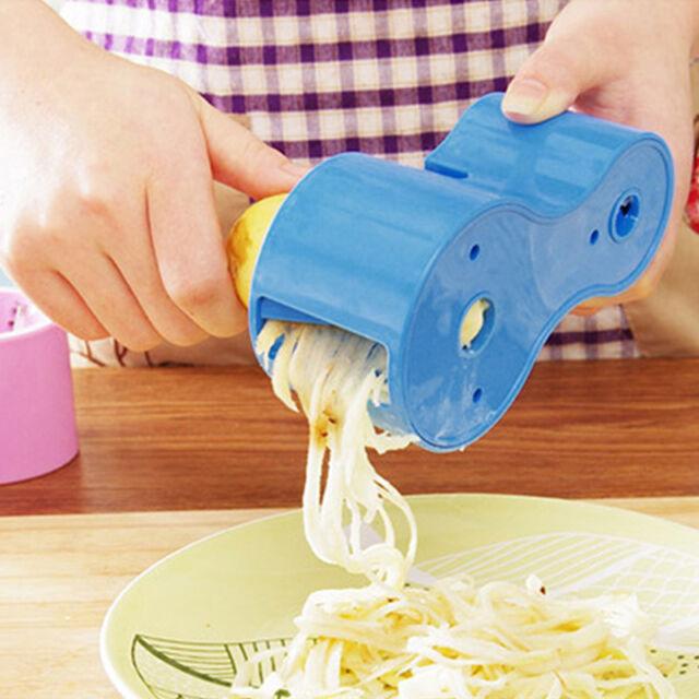 Vegetable Spiral Slicer Process Device Cutter Peeler Fruit shred Kitchen Tools!!