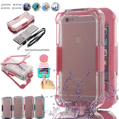 For iPhone X 6s 7 Plus 8 XS 6 5S XR Waterproof Dirt Shockproof Full Case Cover