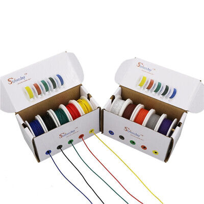 Electrical Wire Cable Set 282624222018 Awg 5 Color Mix Pcb Copper Wire Kit
