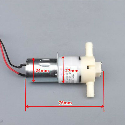 Dc 12v 24v Mini 370 Diaphragm Self Priming Water Pump High Pressure Suction Pump